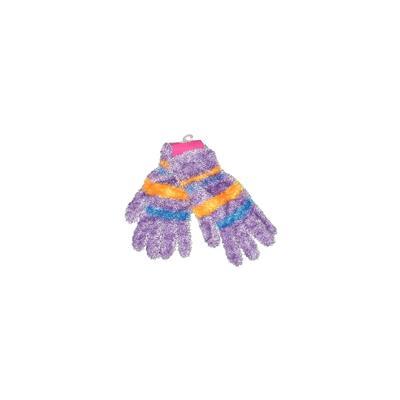 Magic Gloves Gloves: Purple Stripes Accessories