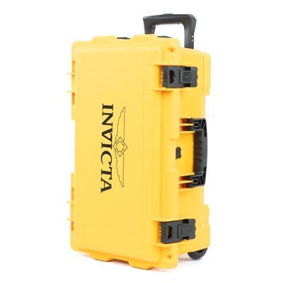 invicta 25-Slot Dive Case Yellow (DC25YEL)