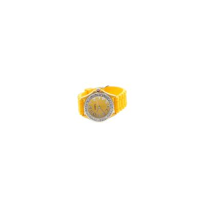 Geneva Watch: Yellow Solid Acces...
