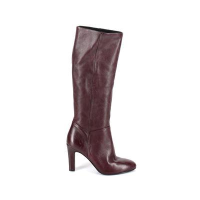 JOHN LEWIS WOMEN - JOHN LEWIS Women Boots: Burgundy Solid Shoes - Size 40