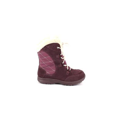 Columbia Boots: Purple Solid Sho...