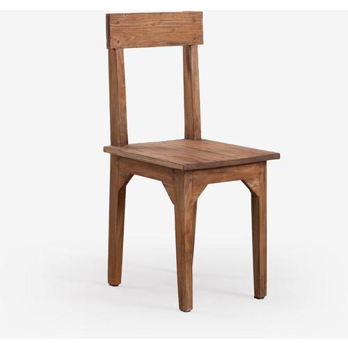 SKLUM Vignet Stuhl aus recyceltem Holz Recyceltem Holz Recyceltes Holz - Recyceltes Holz