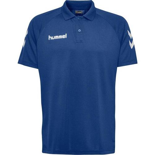 HUMMEL Herren Polo CORE FUNCTIONAL POLO, Größe M in Blau