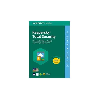 Kaspersky Total Security 2021 : 5 PC / 1 an