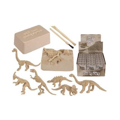 Kit éducatif archéologiques pour enfants Squelette de dinosaure Dig et Discover : 1