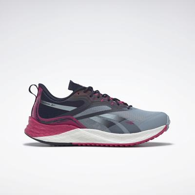 Reebok Women's Floatride Energy 3 Adventure Shoes in Gable Grey/Pursuit Pink/Vector Navy Size 5 - Running Shoes