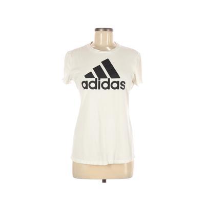 Adidas Active T-Shirt: White Gra...