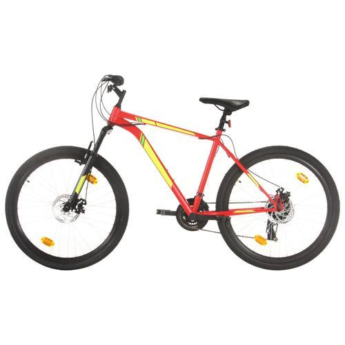 vidaXL Mountainbike 21 Gang 27,5 Zoll Rad 42 cm Rot