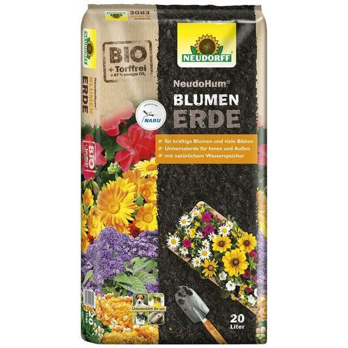NEUDORFF® NeudoHum® BIO BlumenErde 20 Liter torffrei