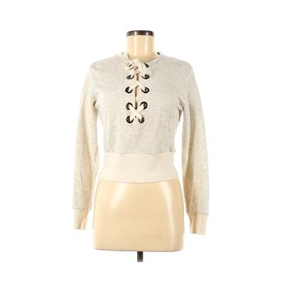Don't Ask Why - Don't Ask Why Sweatshirt: Ivory Clothing