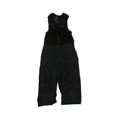 Vertical'9 Snow Pants With Bib: Black Sporting & Activewear - Size 6