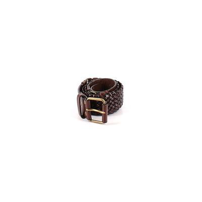Ann Taylor LOFT - Ann Taylor LOFT Leather Belt: Brown Accessories - Size Small