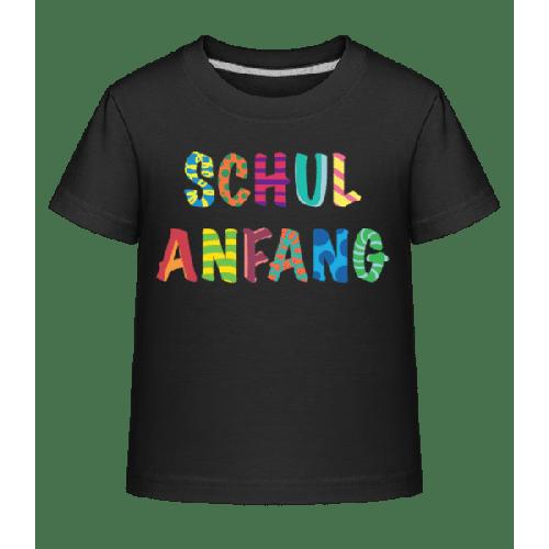 Schulanfang - Kinder Shirtinator T-Shirt