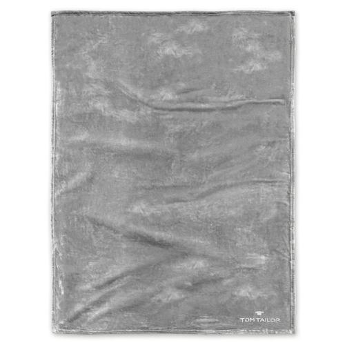 Angorina-Fleece Decke Tom Tailor Silberfarben