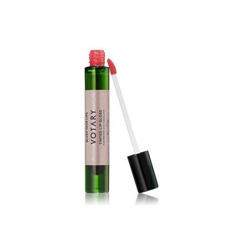 VOTARY Tinted Lip Gloss Raspberry and Squalane Lipgloss 8 ml Raspberry