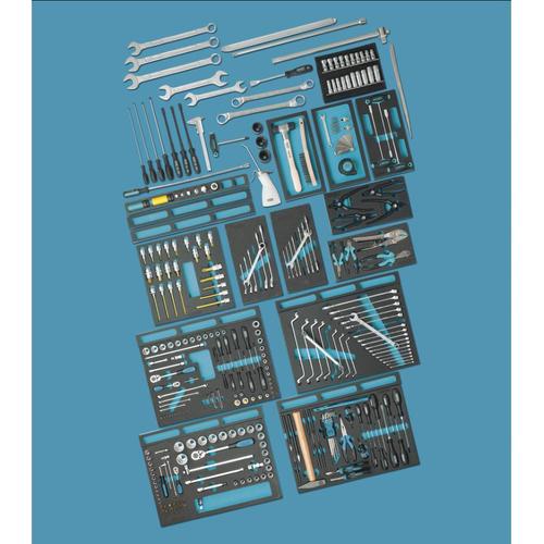 NEO TOOLS Werkzeugset 08-681 Werkzeugsatz,Steckschlüsselsatz,Werkzeug Set,Werkzeug Kit