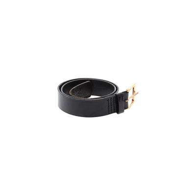 Nixon - Nixon Leather Belt: Black Solid Accessories - Size Small
