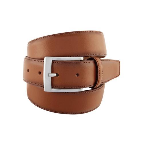 BERND GÖTZ Ledergürtel, mit markant männlicher Schließe braun Damen Ledergürtel Gürtel Accessoires