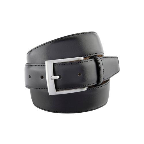 BERND GÖTZ Ledergürtel, mit markant männlicher Schließe schwarz Damen Ledergürtel Gürtel Accessoires