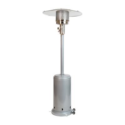 """Flash Furniture NAN-HSS-AGH-SL-GG 87"""" Portable Patio Heater - 40,000 BTU, Stainless Steel, Liquid Propane"""