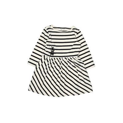 Designer Kidz Dress: White Stripes Skirts & Dresses - Used - Size 130