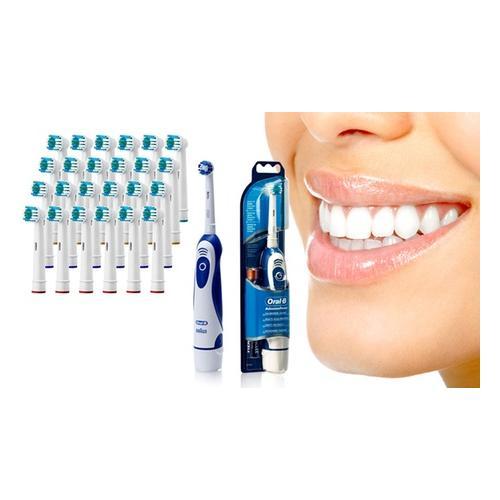 Braun: Braun Oral-B Zahnbürste + 24 kompatible Bürstenköpfe
