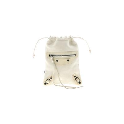 Balenciaga Makeup Bag: Ivory Solid Accessories