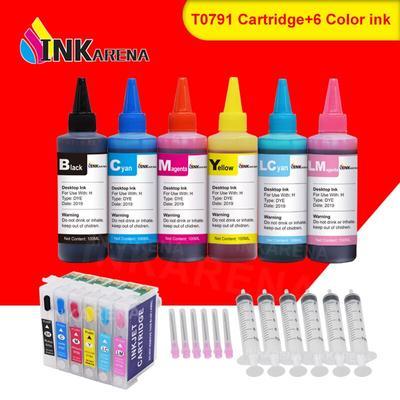 Inkular – cartouches d'encre pour imprimante, pour Epson Stylus Photo 100 1400 W P50 Artisan 1500