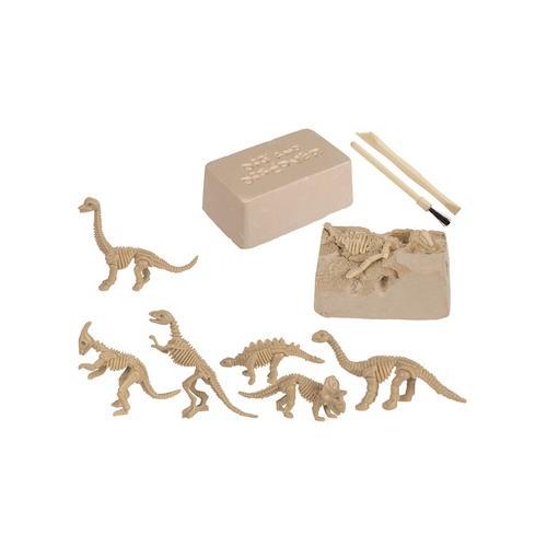 Dinosaurier-Skelett zum Ausgraben: 2
