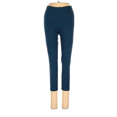 Victoria Sport Active Pants - Super Low Rise: Blue Activewear - Size X-Small