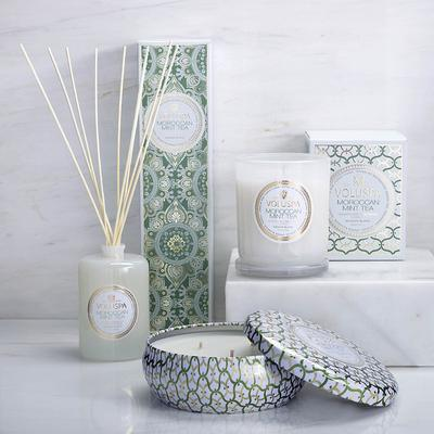 Voluspa Moroccan Mint Tea Candle...