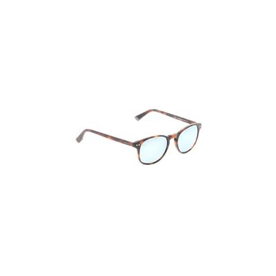 MVMT Sunglasses: Brown Solid Acc...