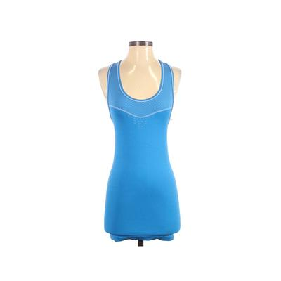Nike Active Tank Top: Blue Solid...