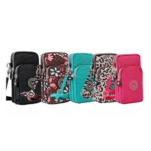 Smartphone-Tasche: Pink/1