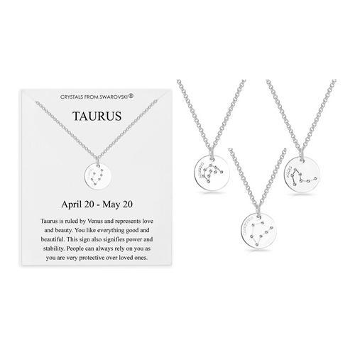 Philip Jones Halskette mit Swarovski®-Kristallen: Widder