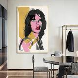 Affiche d'art d'andy Warhol, pei...