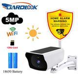 Caméra solaire Wifi 5mp, PIR HD,...