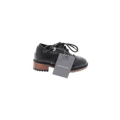Van Heusen Dress Shoes: Black Solid Shoes - Size 5