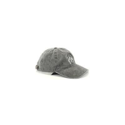 Assorted Brands Baseball Cap: Gray Accessories