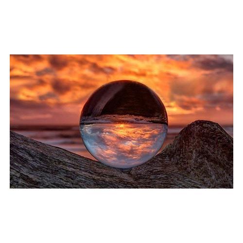 Sphärische Kristall-Linse 50 mm: 2