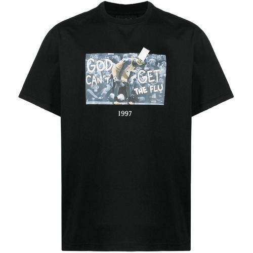 Throwback. T-Shirt mit Foto-Print