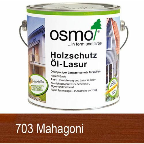 Osmo Holzschutz Öl-Lasur 0.75 L 703 Mahagoni - size please select - color Mahagoni - Mahagoni