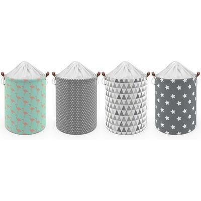 Drawstring Laundry Basket: Waves