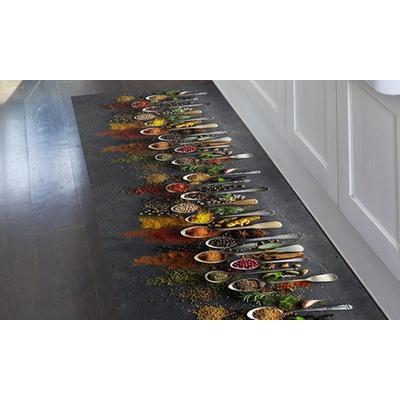 Tapis de cuisine en PVC : 52 x 180 cm / Orient