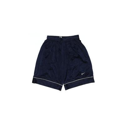 Nike Athletic Shorts: Blue Solid...