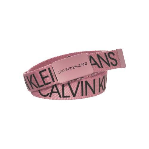 Calvin Klein Jeans Koppelgürtel CANVAS LOGO BELT rosa Baby