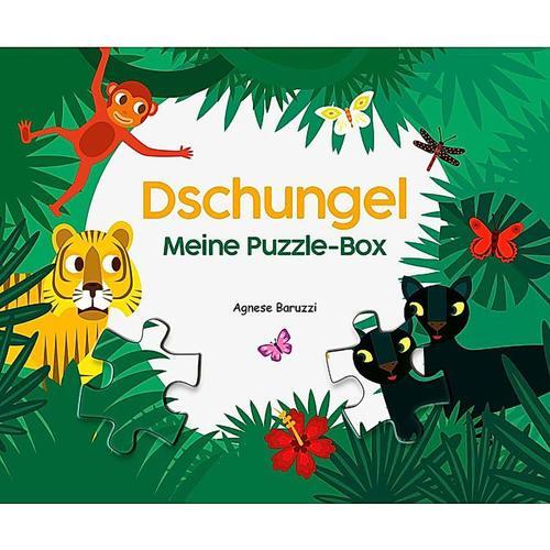JAKO-O Meine Puzzle-Box Dschungel, bunt
