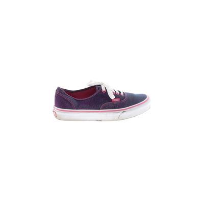 Vans Sneakers: Purple Color Block Shoes - Size 8 1/2