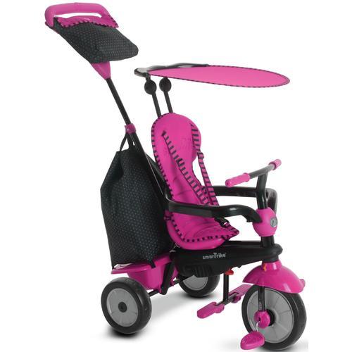 smarTrike Dreirad Glow, Pink, mit Sonnenschutzdach rosa Kinder Dreiräder Kinderfahrzeuge