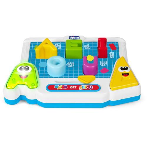 Chicco Lernspielzeug Lerntafel der Vokale bunt Kinder Lernspiele